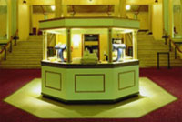 Original EMD cinema kiosk