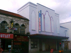 New cinema facade